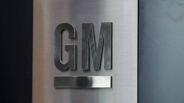 Das Logo von General Motors