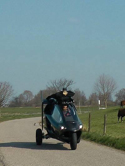 Das fliegende Auto hubschrauber Auto PAL-V One