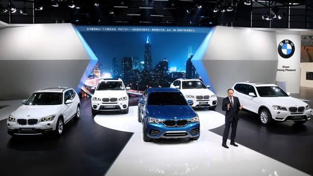 BMW auf der Shanghai Auto Expo 2013