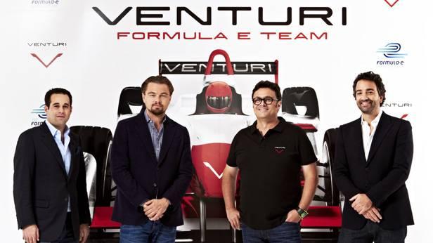 Gründungsfoto von Venturi Automobile