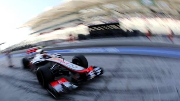 Lewis Hamilton beim GP von Abu Dhabi