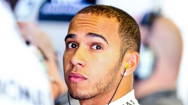 Der Formel-1-Rennfahrer Lewis Hamilton
