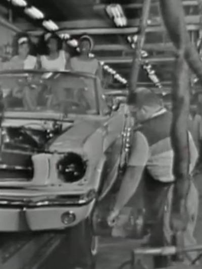 Martha Reeves and the Vandellas Nowhere to run Ford Mustang Detroit Motown