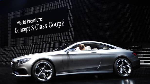 Das Mercedes S-Klasse Coupe auf der IAA 2013
