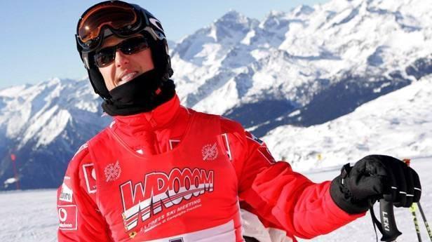 Michael Schumacher 2006 beim Skirennen in Madonna di Camiglio (Italien) © Bild: EPA / Rainer Jensen / picturedesk.com