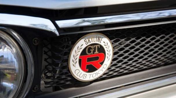 Detailansicht der Front des Nissan Skyline 2000 GT-R