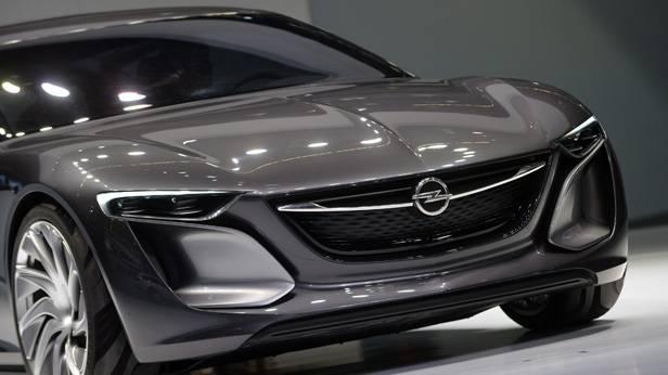 Das Opel Monza Concept auf der IAA 2013