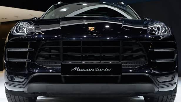 Der Porsche Macan Turbo auf der Tokyo Motor Show 2013