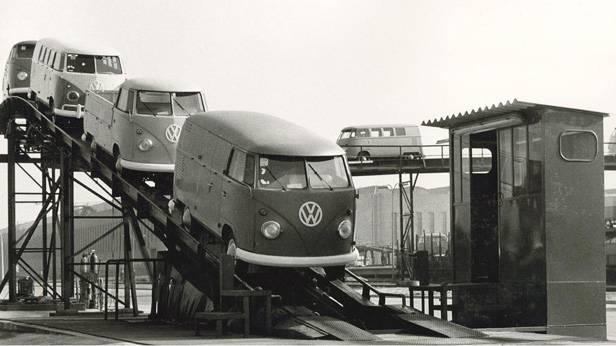 Volkswagen Produktion des VW T1