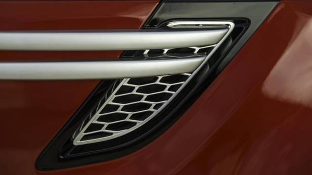 Detailansicht des Range Rover Sport SD V8