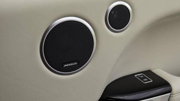 Die Soundanlage des Range Rover Sport SD V8
