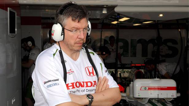 Ross Brawn 2008 beim GP Australien