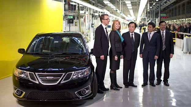 Saab baut wieder autos newvs spyker 9-3 trollhättan