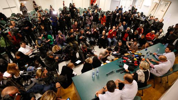 Pressekonferenz um 11:00, am 31.12.2013