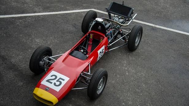 Der Seat Formula 1430 von oben