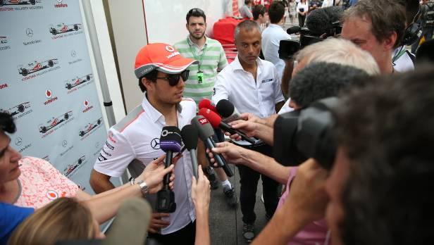 Formel 1: Sergio Perez ab 2014 bei Force India