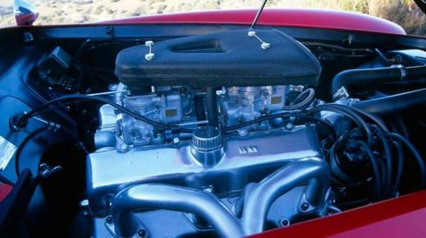 Der Motor des Siata 208S.