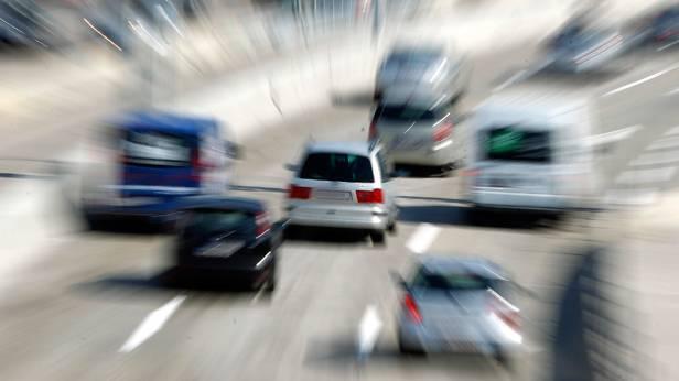 Verkehr auf der Südost Tangente