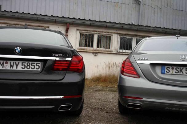 _Vergleichstest-BMW-750-Li---Mercedes-S-500-von-hinten