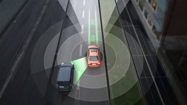 Grafik von Volvo zu selbstfahrenden Autos