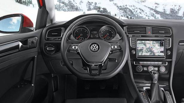 Der VW Golf 4Motion innen