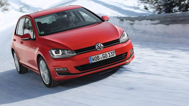 Der VW Golf 4Motion frontal