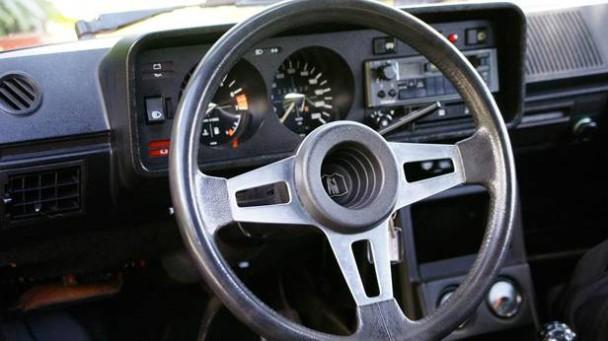 Der VW Golf GTI 1976, innen