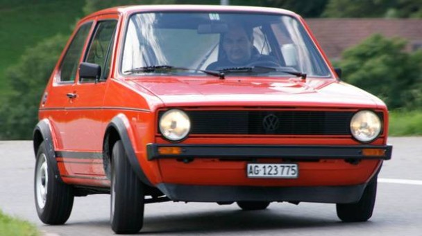 vw golf gti 1976 ein seltenes exemplar von 1976. Black Bedroom Furniture Sets. Home Design Ideas