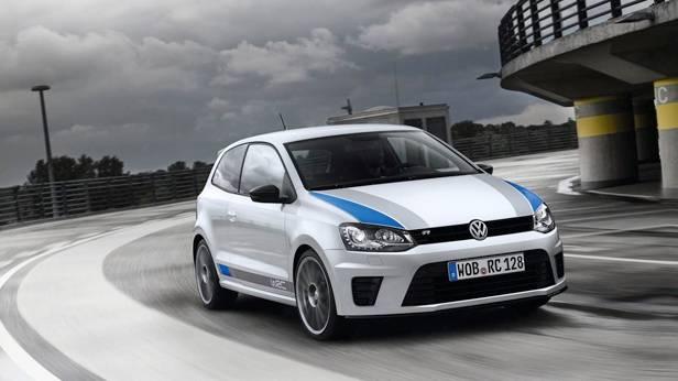 Der VW Polo R WRC front