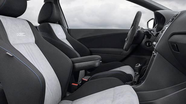 Der VW Polo R WRC innen