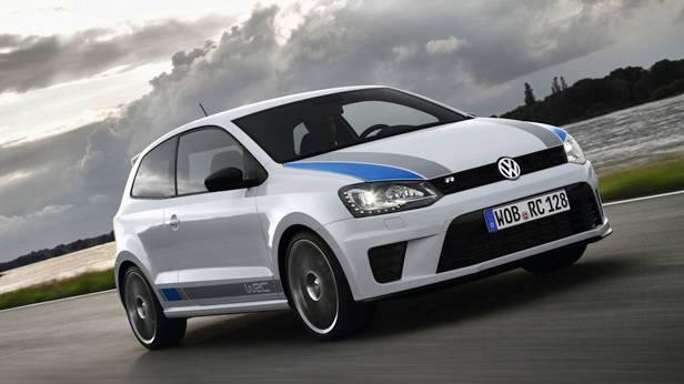 Der VW Polo R WRC seitlich