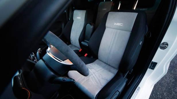 Der VW Polo WRC 1815 innen