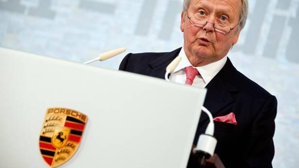Wolfgang Porsche bei der 50 Jahre 911 Feier