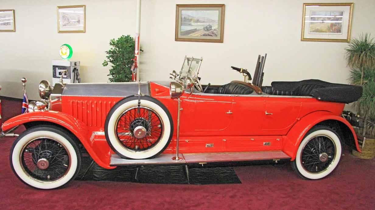 1925er Rolls-Royce Phantom I Barker Torpedo Tourer