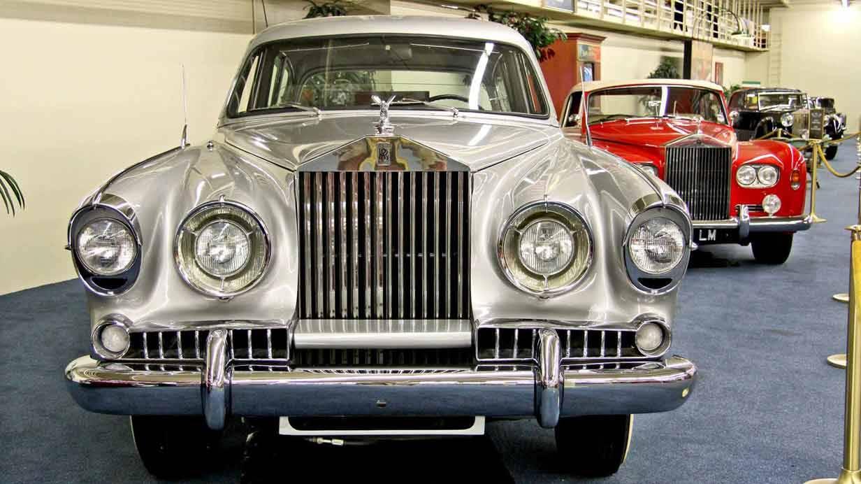 1954er Rolls-Royce Silver Wraith Vignale Saloon