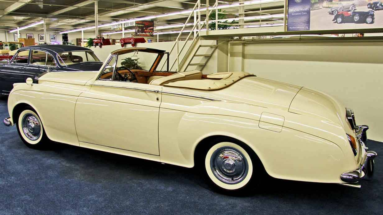 1959er Rolls-Royce Silver Cloud I James Young Two-Seater Drophead Coupe