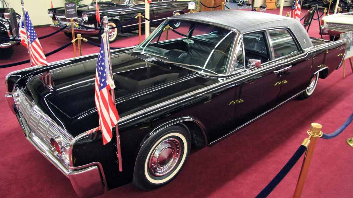 1962er Lincoln Continental Town Limousine