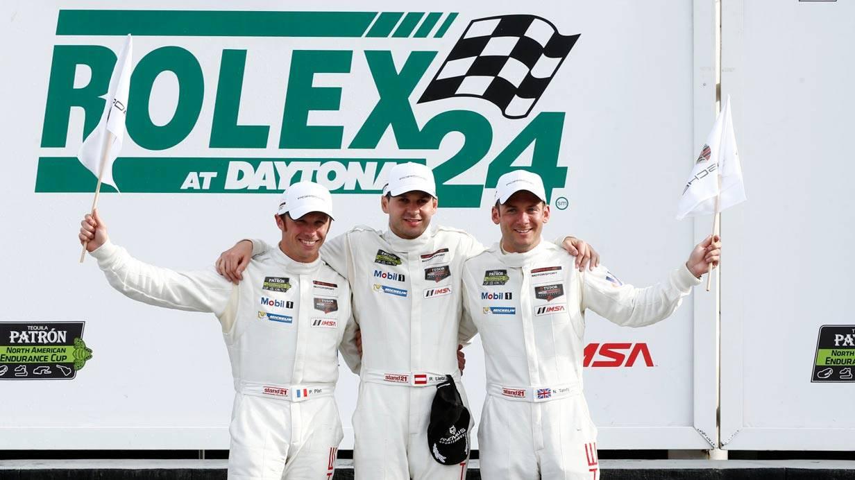 Die Klassensieger mit dem Porsche 911 RSR