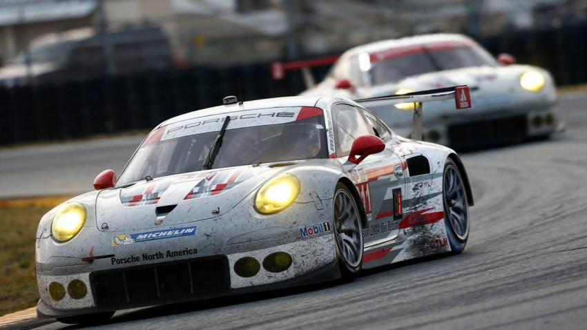Porsche 911 beim 24 Stunden Rennen in Daytona