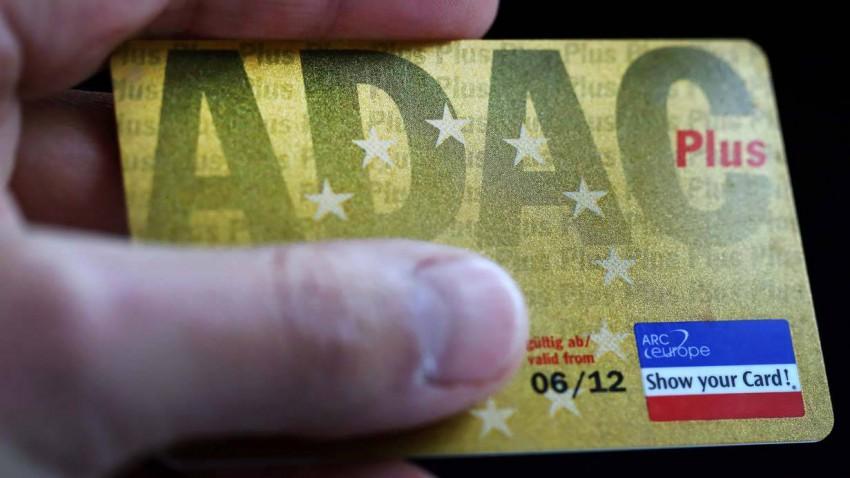 Mitgliedsausweis des ADAC