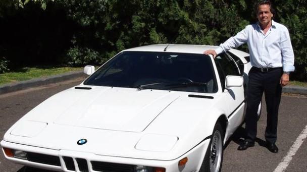 Ein BMW M1 mit seinem Besitzer
