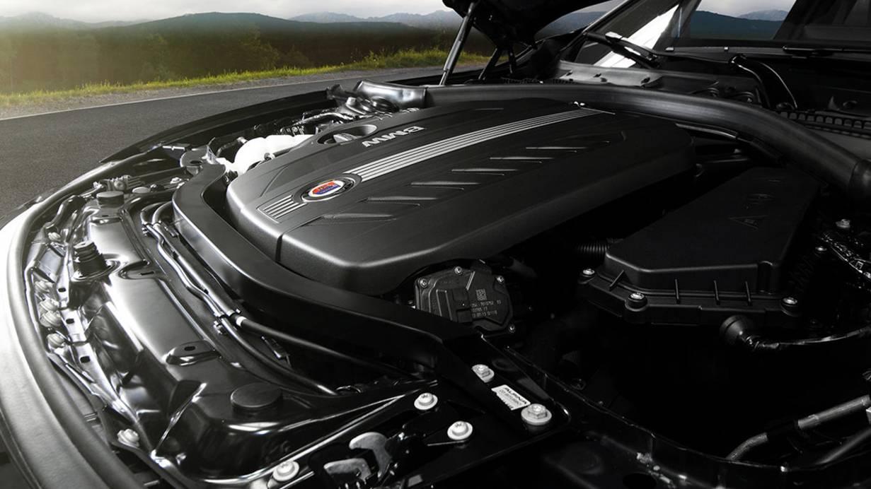 _Alpina D3 Biturbo motor
