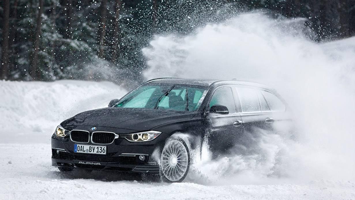 _Alpina D3 Biturbo schnee vorne