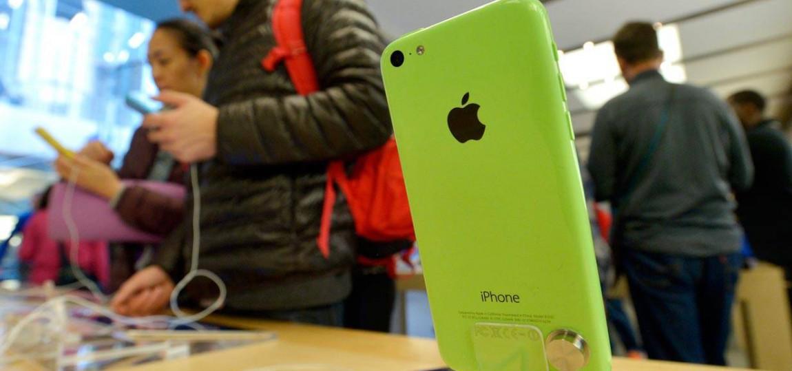 Das Apple iphone 5c
