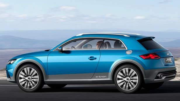 Der Audi Allroad Shooting Brake