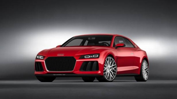 Audi Sport Quattro mit Laserlicht