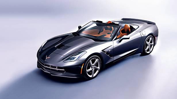 Corvette Cabrio - Orkanspiel