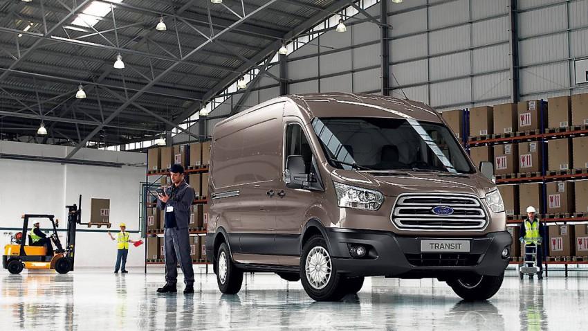 Ford Transit 2014 vorne front
