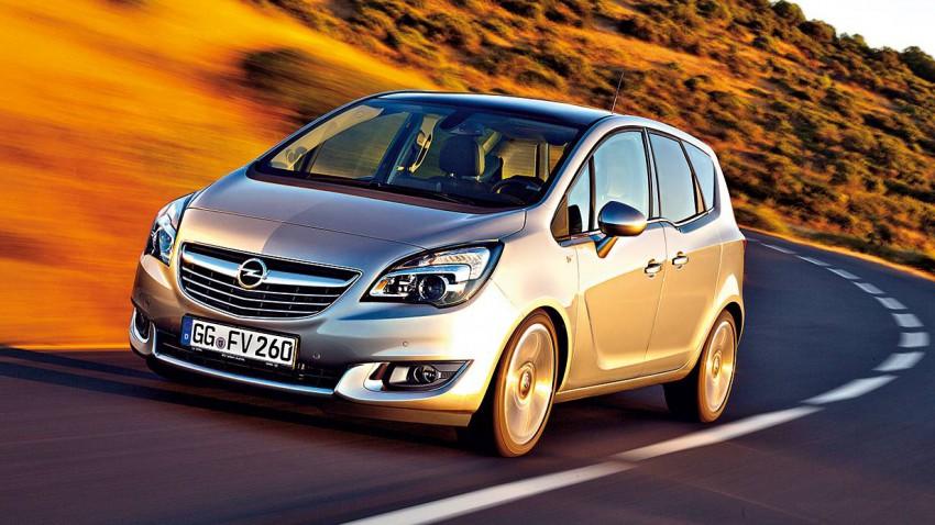 Opel Meriva 2014 vorne seite front