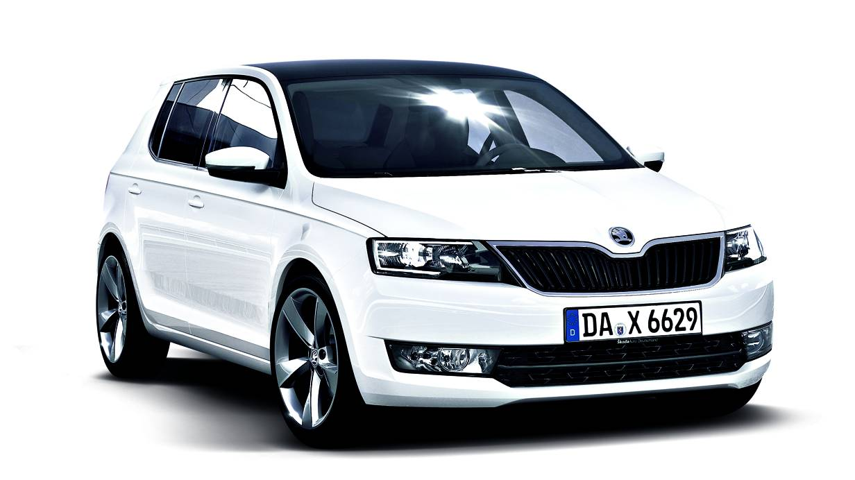 autorevue autos 2014 skoda fabia. Black Bedroom Furniture Sets. Home Design Ideas